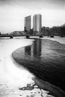 North View from River Walk, Grand Rapids, 2008