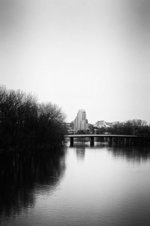 View from Kent Trails Bridge, Grand Rapids, 2011